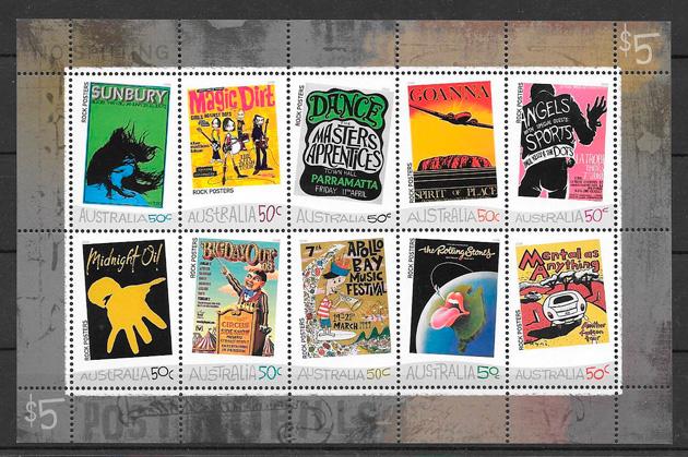 sellos arte Australia 2006