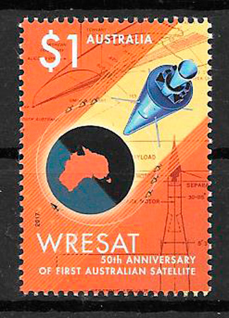 sellos espacio Australia 2017