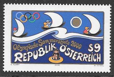 sellos deporte Austria 2000