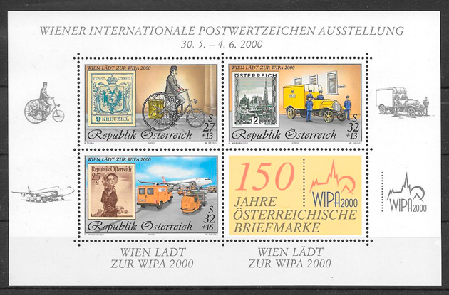 sellos transporte Austria 2000