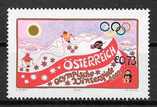 sellos deporte Austria 2002