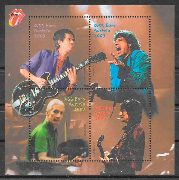 sellos colección arte Austria 2003