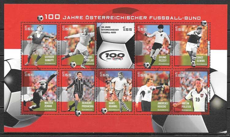 sellos deporte Austria 2004