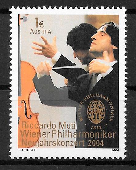filatelia arte Austria 2003