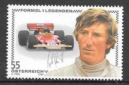 sellos colección deporte Austria 205
