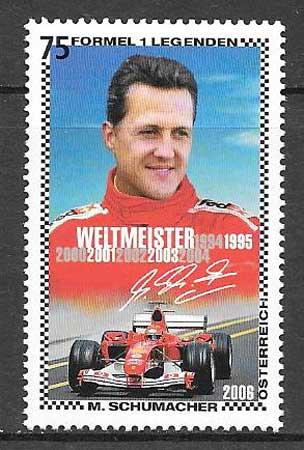 sellos deporte Austria 2006