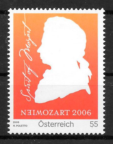 filatelia arte Austria 2006