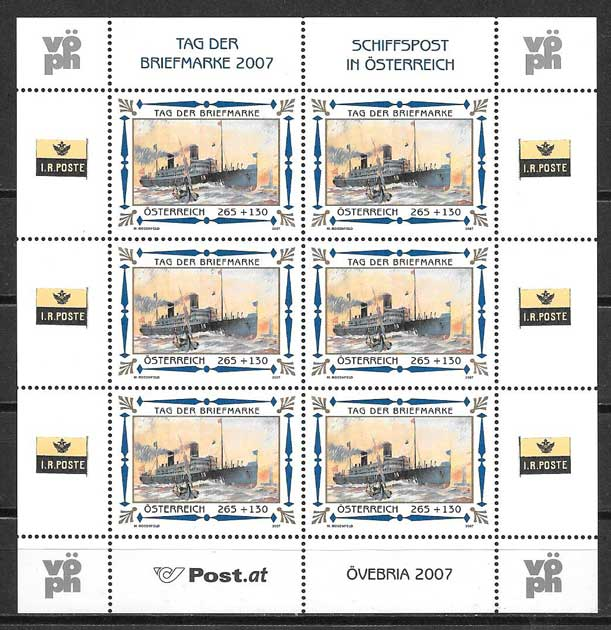 Filatelia Austria día del sello