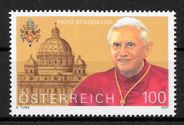 sellos personalidad Austria 2007
