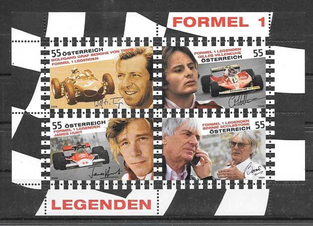 sellos Austria deporte 2009