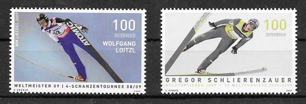 sellos deporte Austria 2009