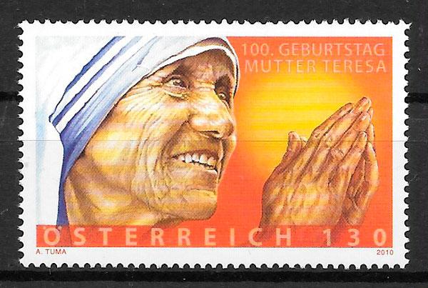 sellos personalidad Austria 2010