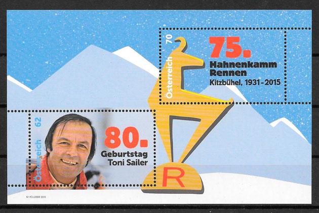 sellos deporte Austria 2015