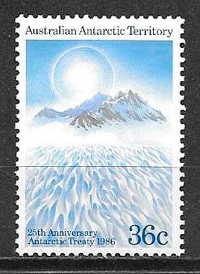 filatelia turismo Autralia Territorio Antártico