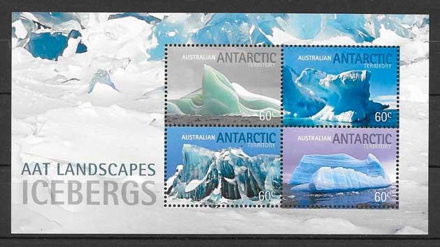 sellos turismo Australia Territorio Antártico 2011
