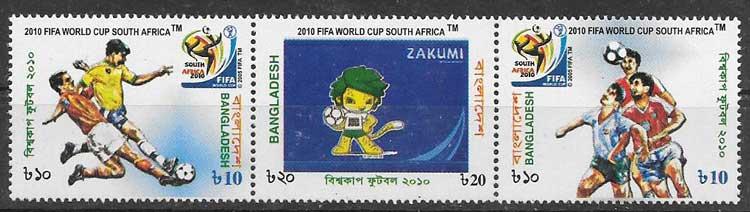 sellos deporte Bangladesh 2010