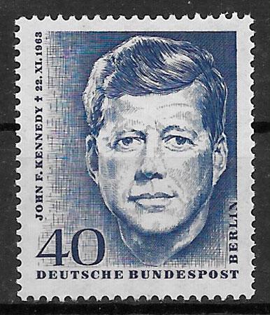 filatelia personalidad Alemania Berlin 1964