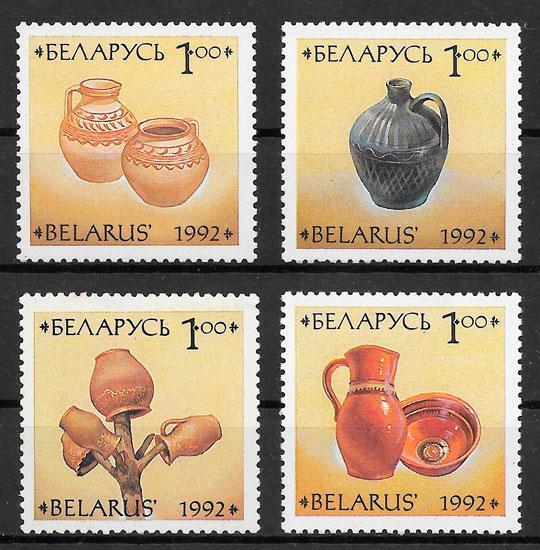 filatelia arte Bielorrusia 1993