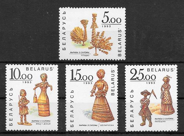sellos arte Bielorrusia 1993