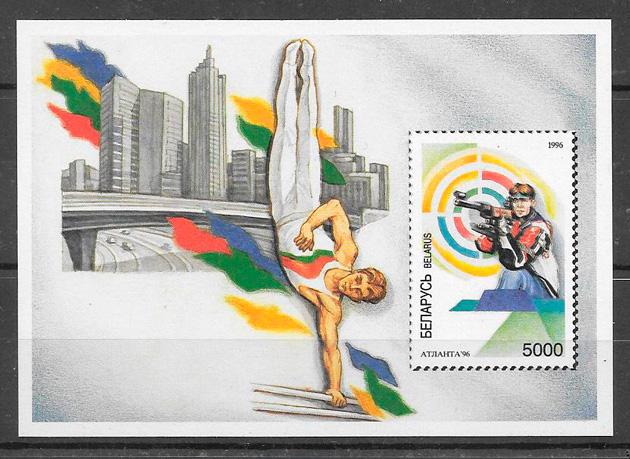 sellos deporte Bielorrusia 1996