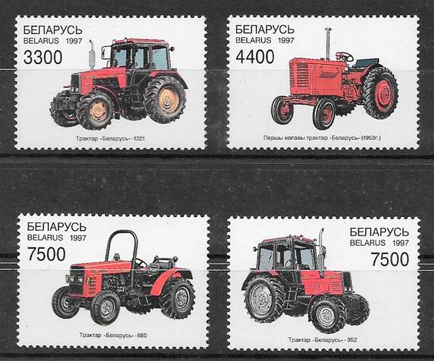 sellos transporte Bielorrusia 1997