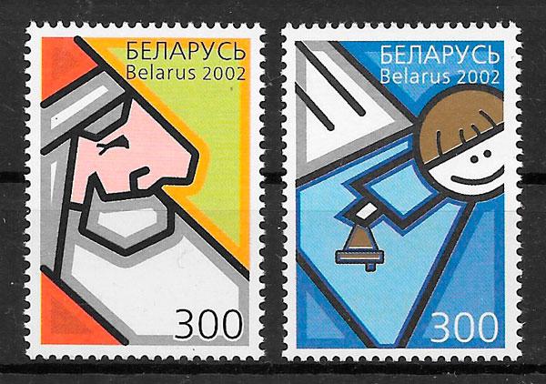 filatelia colección naval Bielorrusia 2002