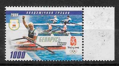 sellos deporte Bielorusia 2008