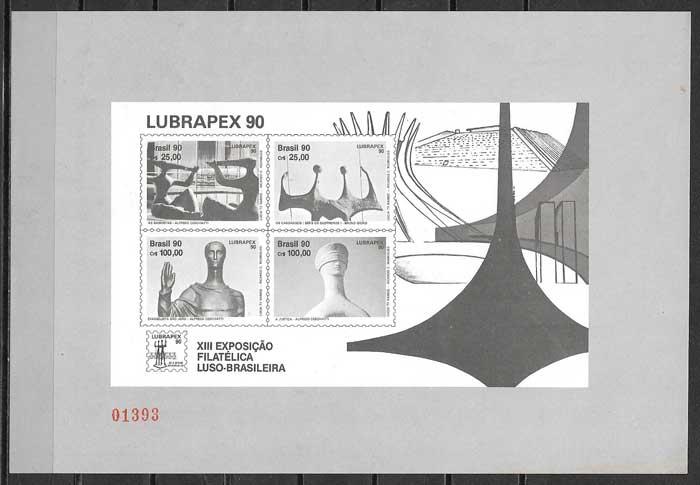 sellos arte brasil 1990