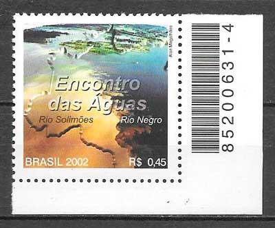 sellos turismo Brasil 2002