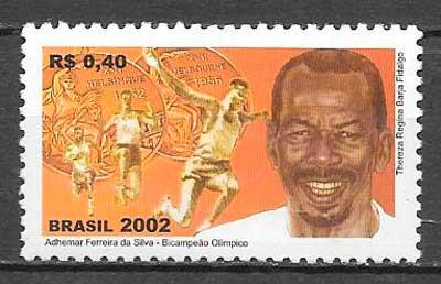 sellos deporte Brasil 2002