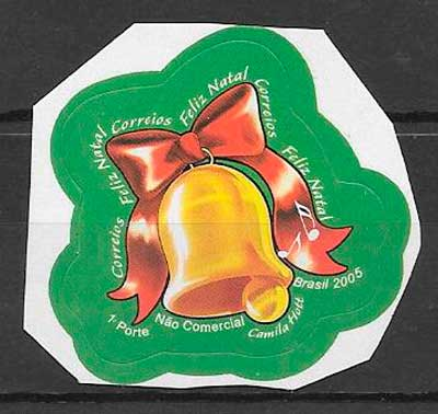 filatelia colección navidad 2005