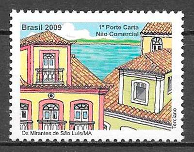 colección sellos arquitectura Brasil 2009