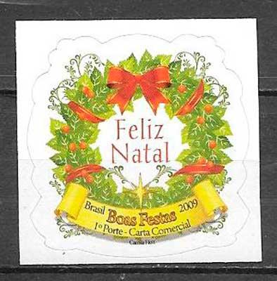 sellos navidad 2009