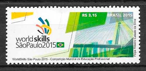 sellos arte Brasil 2015