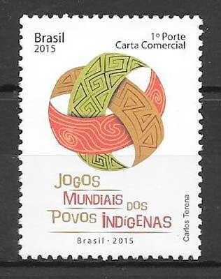 sellos deporte Brasil 2015