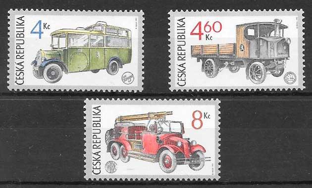sellos transporte Chequia 1997