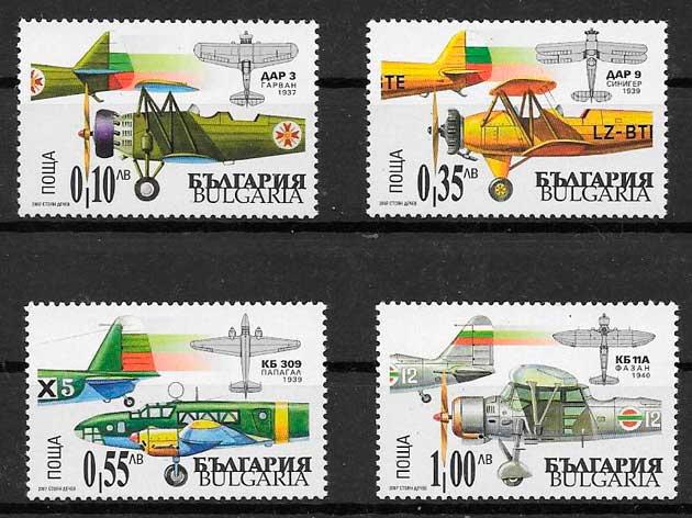 sellos transporte Bulgaria 2006