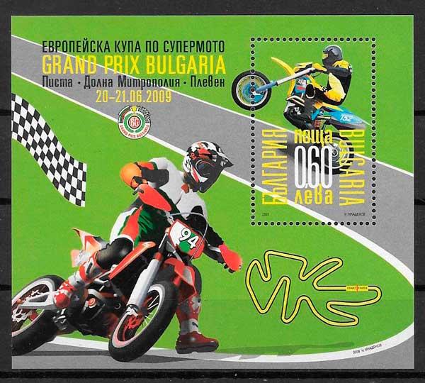 sellos deporte Bulgaria 2009