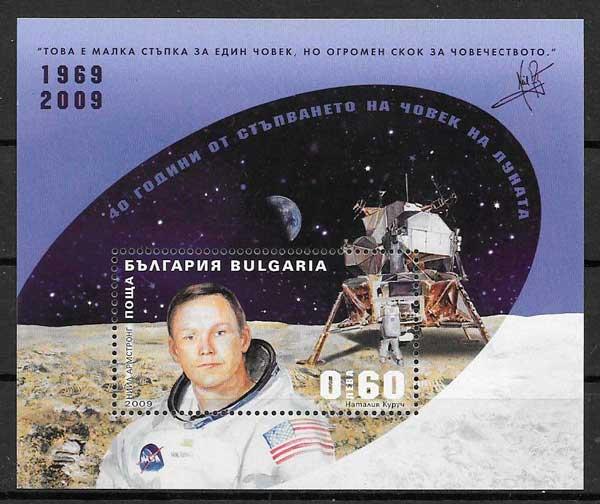sellos espacio Bulgaria 2009