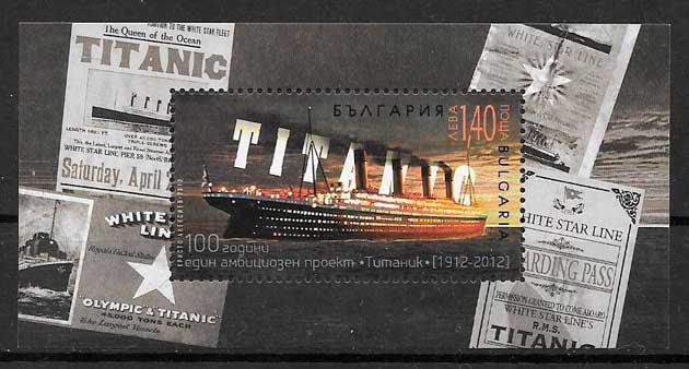 sellos transporte Bulgaria 2012