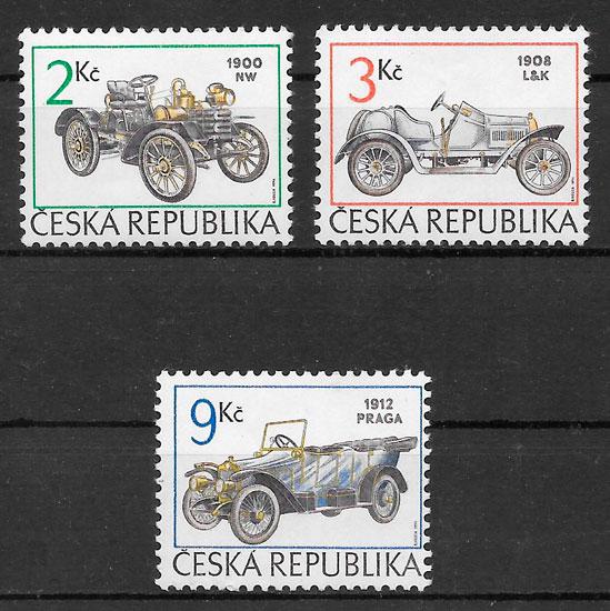 sellos transporte Chequia 1994