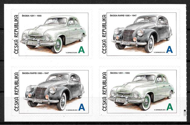 sellos transporte Chequia 2015