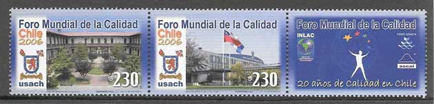 sellos colección arquitectura Chile 2006