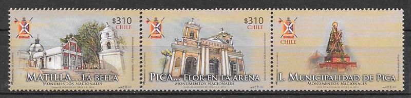 colección sellos arquitectura Chile 2016