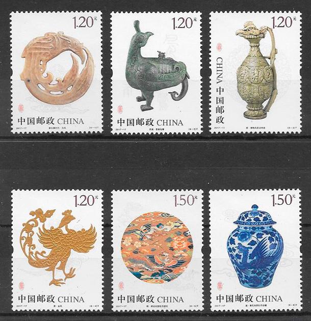 sellos arte China 2017