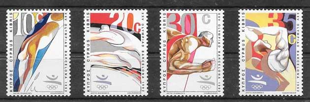 Colección sellos Olimpiada Barcelona 92