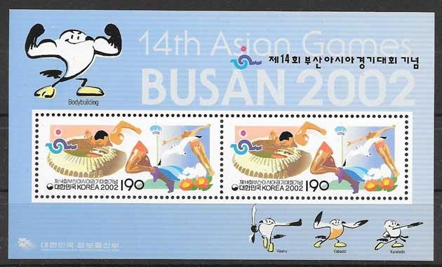 sellos deporte Corea del Sur 2002