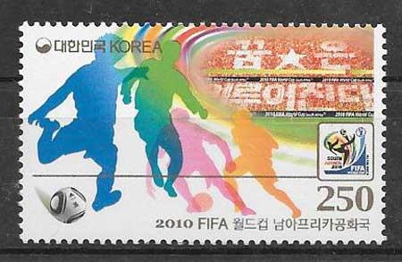sellos deporte Corea del Sur 2010