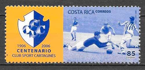 filatelia deporte Costa Rica 2005