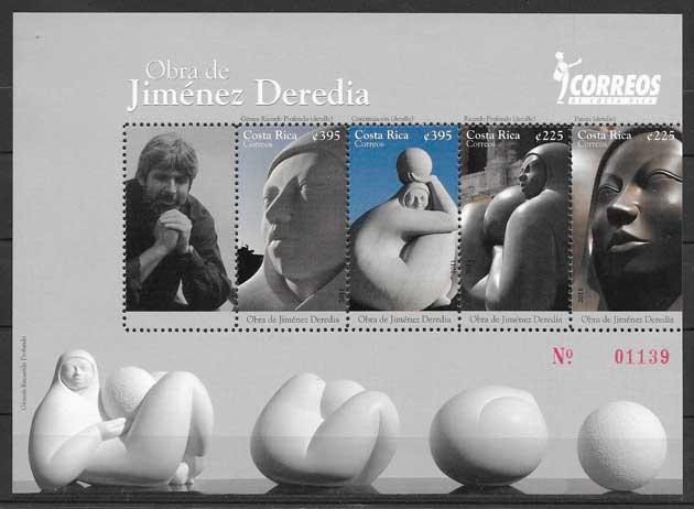 sellos arte Costa Rica 2011